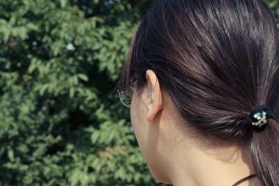 【耳の後ろは特に注意!ノネナールの発生源です】